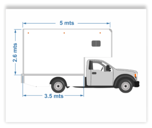 camioneta de mudanza