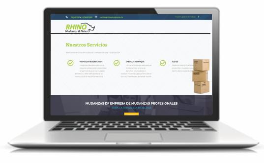 paginas web para empresas de mudanzas